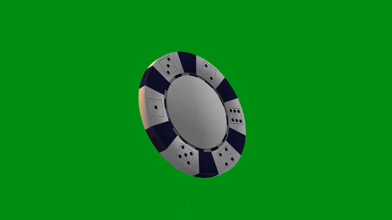 绿幕视频素材筹码