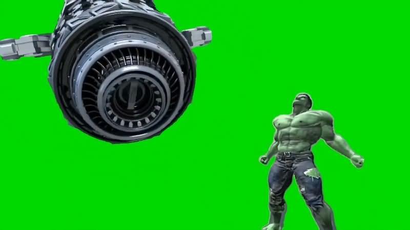 绿幕视频素材英雄制造机