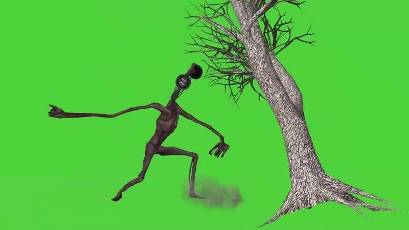 绿幕视频素材警笛头