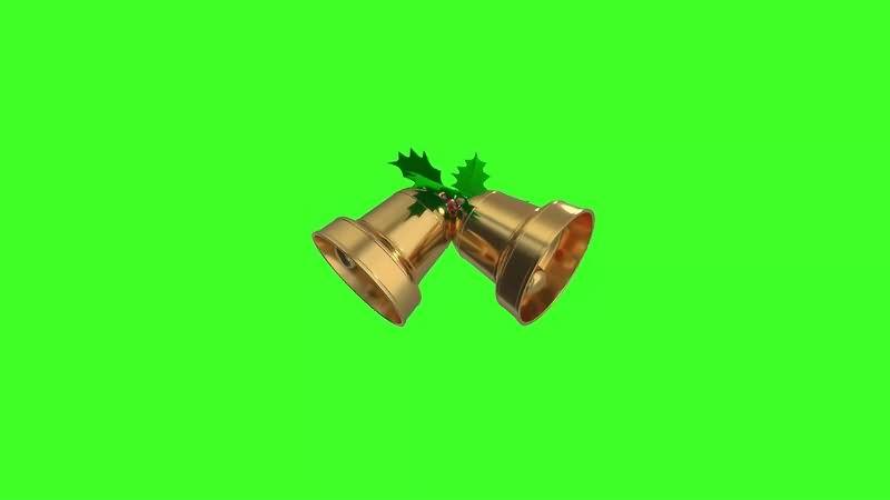 绿幕视频素材铃铛