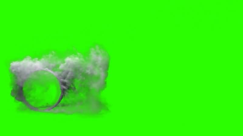 绿幕视频素材摩擦冒烟