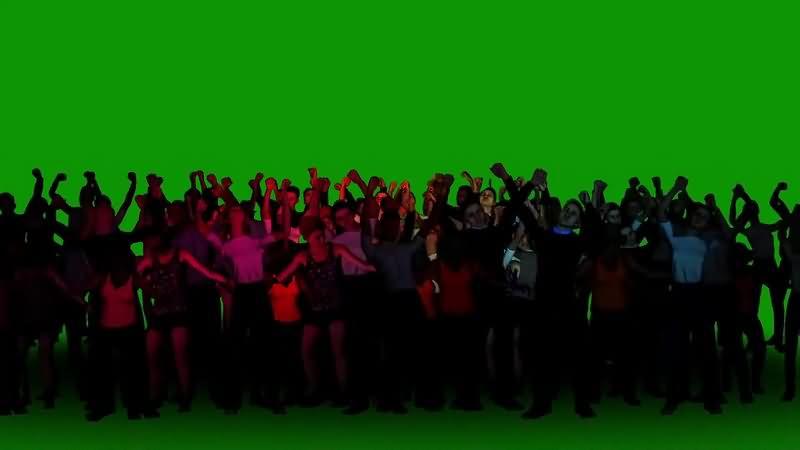 绿幕视频素材人群欢呼.jpg