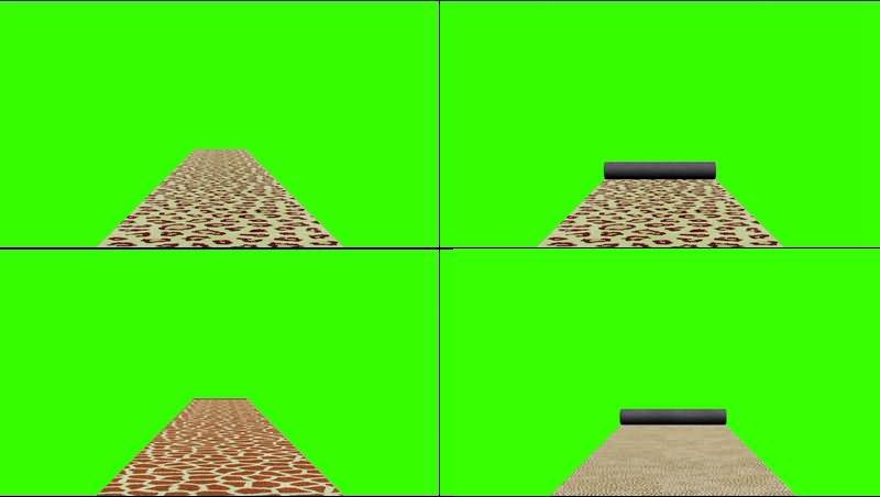 绿幕视频素材地毯
