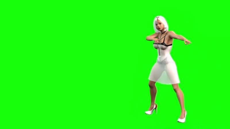 绿幕视频素材迪斯科