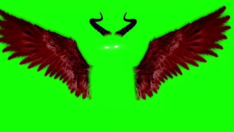 绿幕视频素材恶魔翅膀.jpg