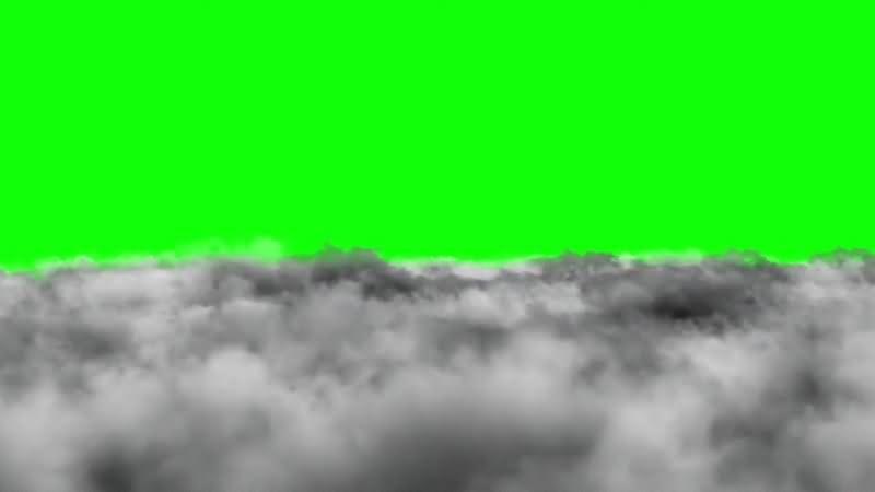 绿幕视频素材乌云
