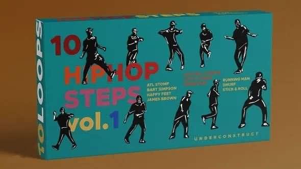 嘻哈舞者视频素材