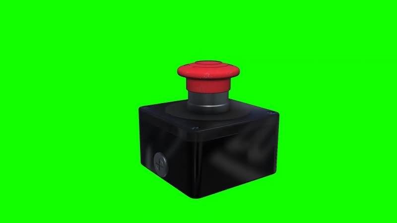 绿幕视频素材按钮