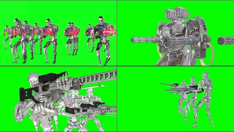 绿幕视频素材终结者