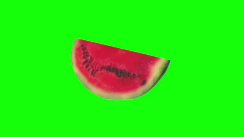 绿幕视频素材西瓜